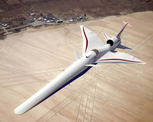 NASA's Quiet Supersonic Jet Being Built By Lockheed Martin