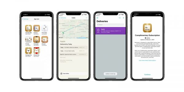 Deliveries package tracking app switches to subscription model, updated with new design and more