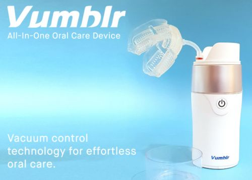 Vumblr cleans your gums, teeth and mouth preventing gum disease and worse