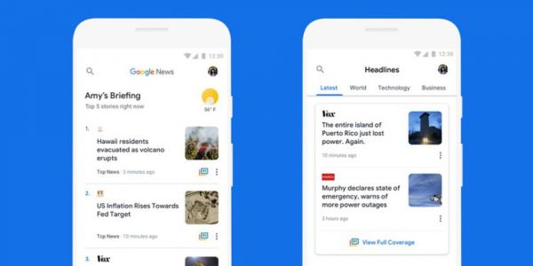 Google News gets data-saving enhancements with offline saving, rolling out soon