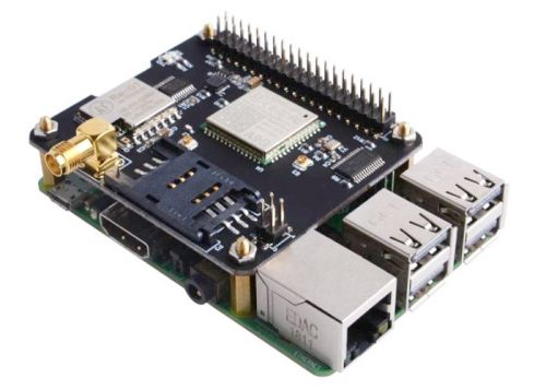 Raspberry Pi Docker Pi IoT Node enables LoRa, GPRS and GPS