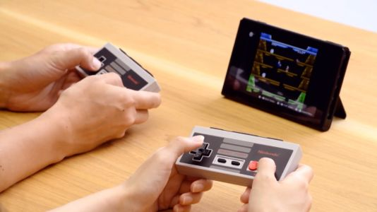 New NES controllers headline announcement-filled Nintendo Switch presentation