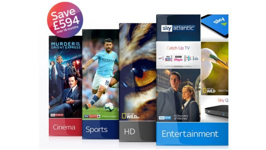 Sky deals: save a huge £594 on this TV, Sky Sports and Cinema mega offer
