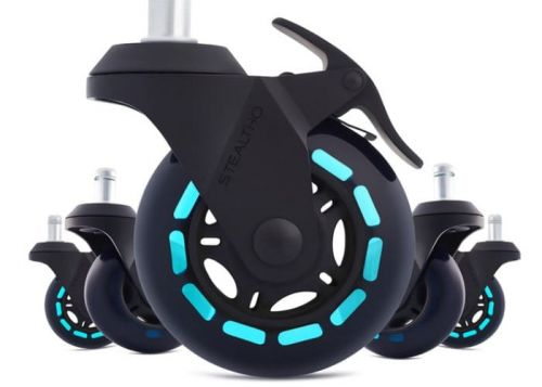 Stealtho Ultimate Caster Wheels, Upgrade Your Gaming Or Office Chair
