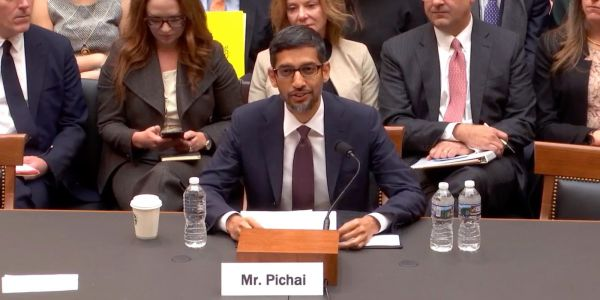 Sundar Pichai suggests other areas, instead of search, Google could explore in China, like healthcare
