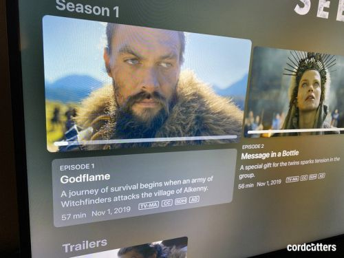 Something's wonky with Apple TV+ and HDR on its own shows