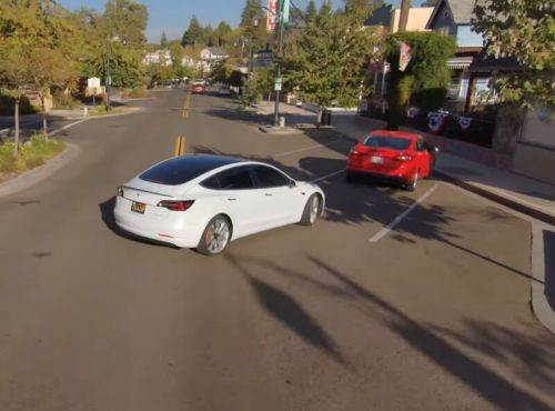 Tesla is now beta-testing self-driving software on public roads
