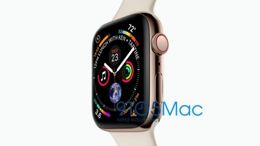 Apple Watch Series 4 Sizes Leaked