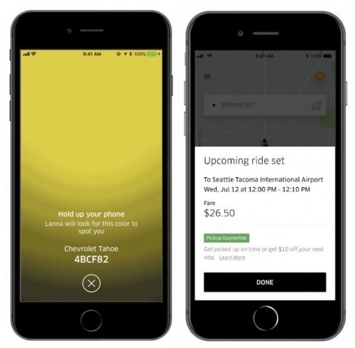 Uber Updates iOS App With New Features Aimed at Simplifying Pickups