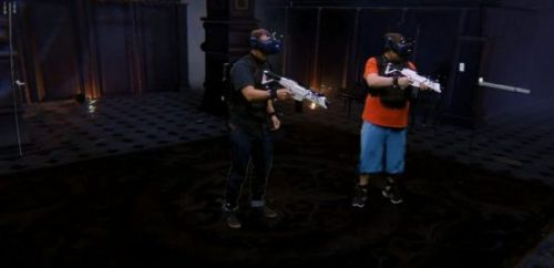 Sandbox hands-on: Its mixed reality flair innovates on VR arcades like The Void