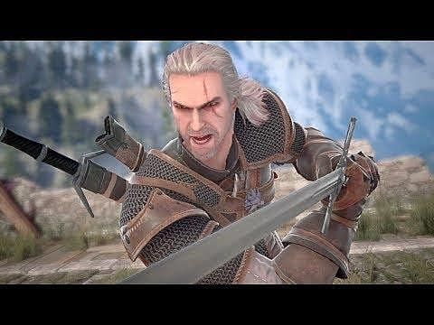 Soul Calibur 6 Roster Will Include The Witcher's Geralt of Rivia