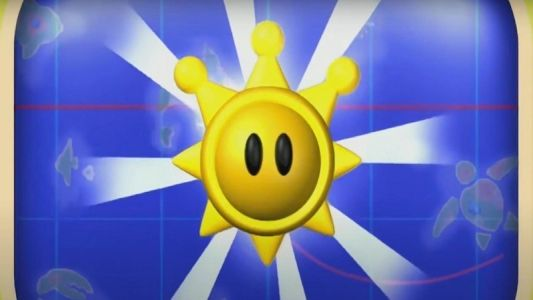 Unlock Mario's Shine shirt and sunglasses in Mario Sunshine