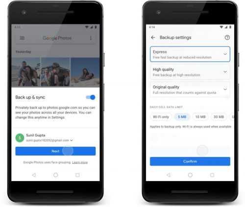 'Express Backup' Feature Rolling Out To Google Photos