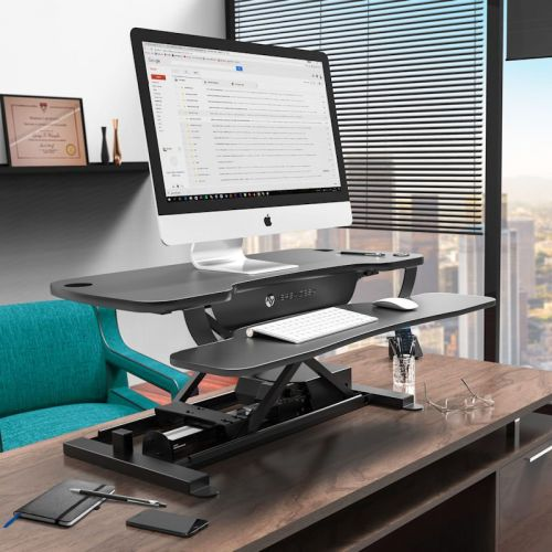 Versadesk Powered Standing Desk Converter: Electric Goodness in a Small Package