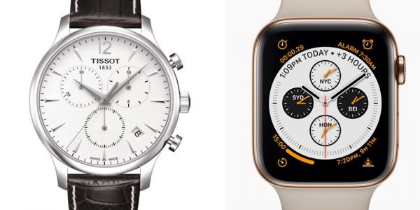 Health features could see Apple Watch Series 4 hit Swatch, Tissot, Mondaine and Fossil