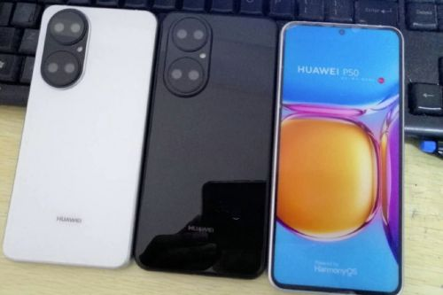 Leaked Huawei P50 dummy units corroborate design, hint at no Android