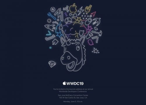 Apple sends out invitations for WWDC 2019 keynote on June 3