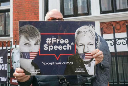 New Assange indictment adds 17 espionage charges