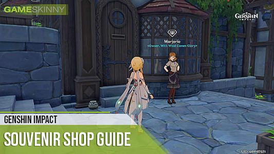 Genshin Impact Souvenir Shop Guide: Location, Items, & What to Buy