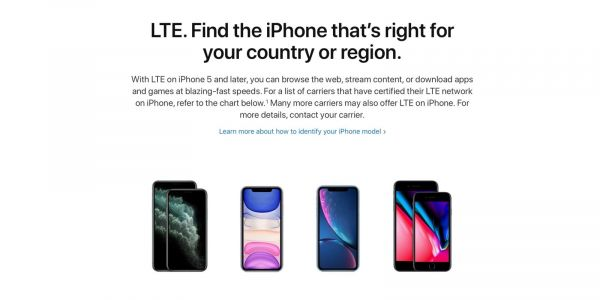 How to check what LTE bands the iPhone 11 and iPhone 11 Pro have