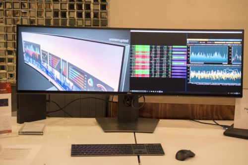 Dell's newest monitor is a 49-inch, dual QHD, curved behemoth