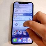 Check out this real-life preview of the iPhone X in action before Apple pulls it down