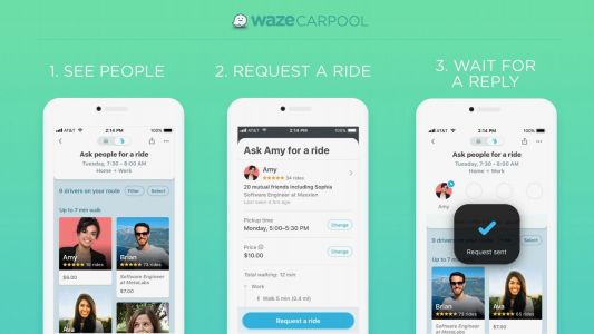Waze Carpool launches for all US users, looks to reduce traffic and commute costs