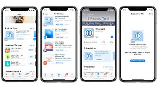 Apple highlighting subscription apps w/ free trials in new App Store section