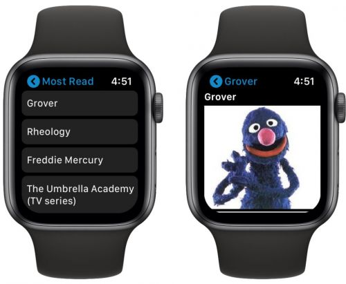 MiniWiki Brings Wikipedia to Apple Watch