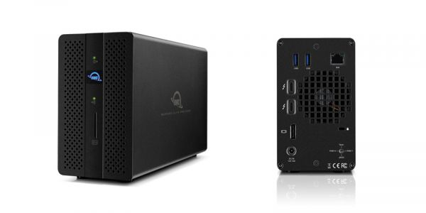 OWC's Mercury Elite Pro Dock does double-duty as RAID storage and Thunderbolt 3 dock