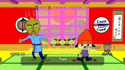 "Hackers find ""official,"" usable PSP emulator hidden in PS4's PaRappa"