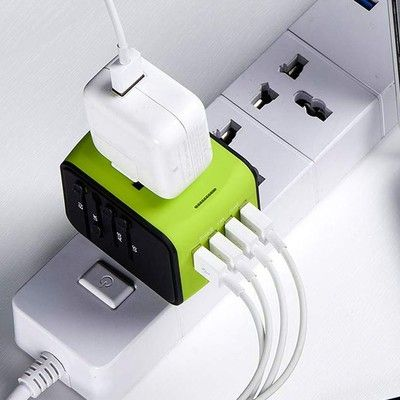 Take your tech around the world with $7 off a universal travel adapter