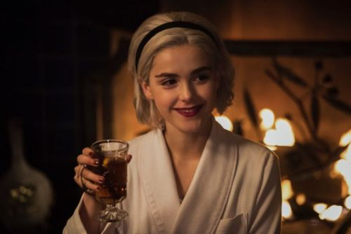 Chilling Adventures of Sabrina wishes you a spooky winter solstice