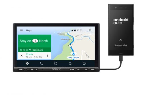 Sony's AX7000 Android Auto Head Unit Will Also Upgrade Your Cars' Terrible Audio - CES 2019