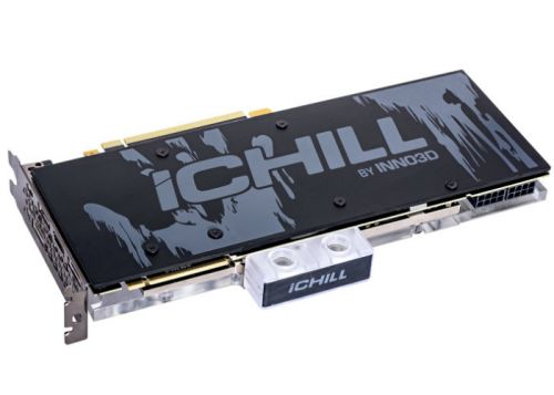 Inno3D iChill Frostbite GeForce RTX 20 graphics card water cooling solution