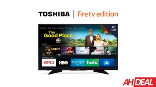This 50-inch Toshiba TV Has Fire TV Built-In For $80 Off