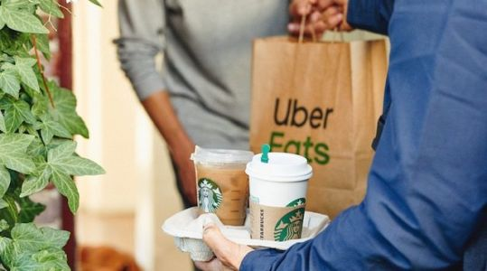 Starbucks Uber Eats Deliveries Are Being Expanded