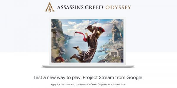Google's Project Stream test trial of 'Assassin's Creed Odyssey' has ended