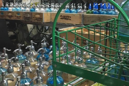 A Visit to NYC's Only Remaining Siphon-Bottle Seltzer Factory