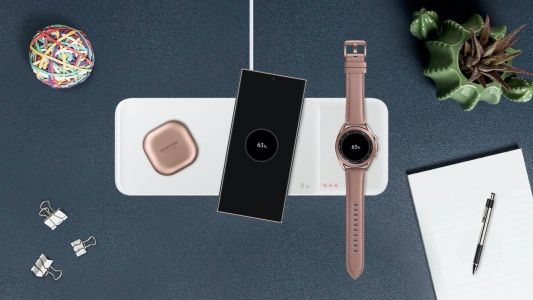 Samsung's Germany website lists specs of Wireless Charger Trio