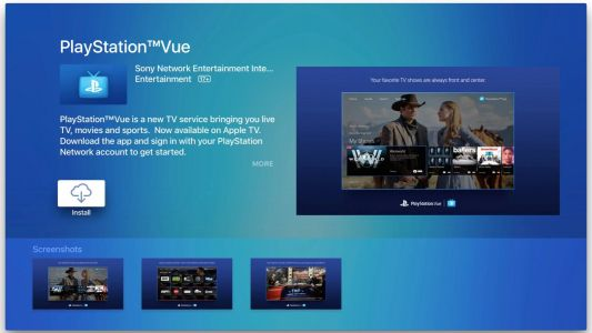 PlayStation Vue updated with TV app integration on iOS & tvOS