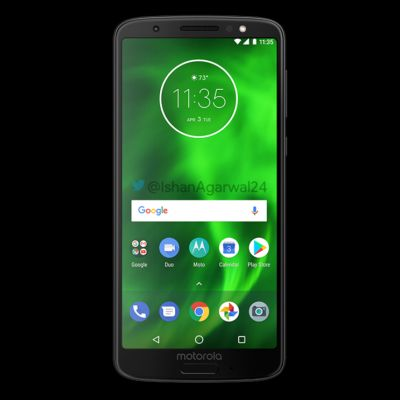 Motorola's Moto G6 Lineup Leaks In High-Resolution Renders