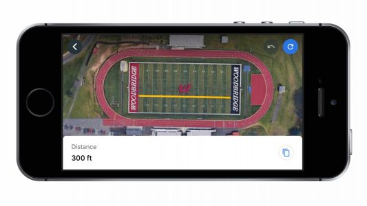 Google Earth for iOS receives handy measure tool to calculate distance and area