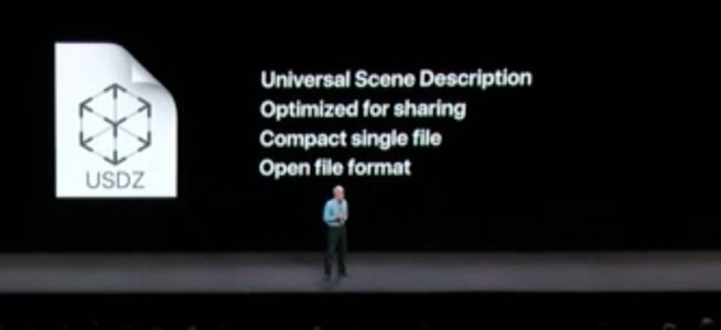 Apple Announces New USDZ Augmented Reality File Format
