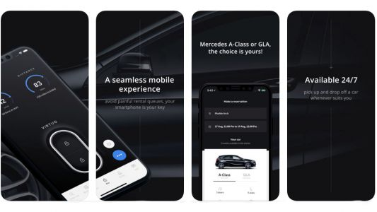 Hire, unlock and drive off a Mercedes in London without speaking to a human being