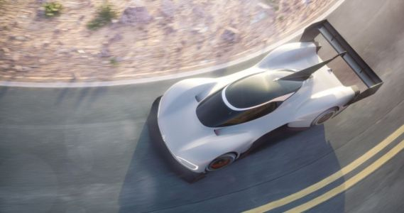 This electric car could set a new record to the top of Pikes Peak this year