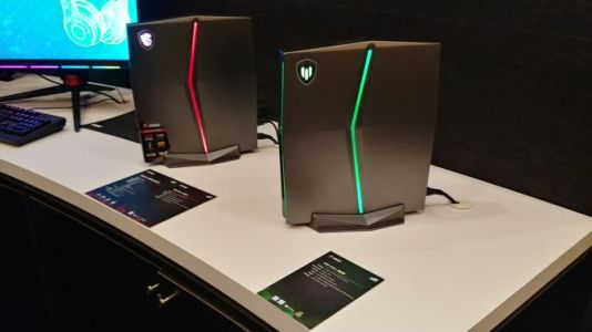 MSI at CES 2018: Vortex G25 for Workstations, the W25