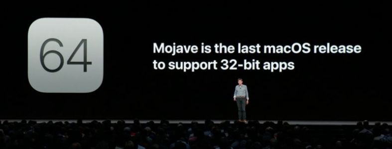 Apple Confirms Mojave is the Last macOS Release to Support 32-Bit Apps