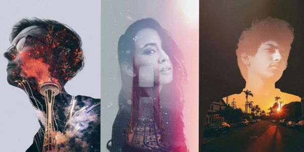 Fuzion app for iOS brings effortless double exposures and image blending to iPhone Portrait photos