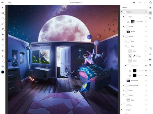 Adobe is finally bringing full Photoshop to iPad